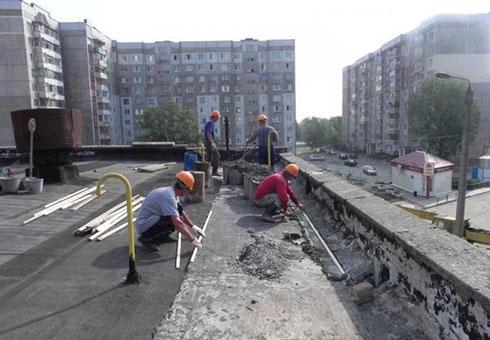 Ремонт бетонного основания