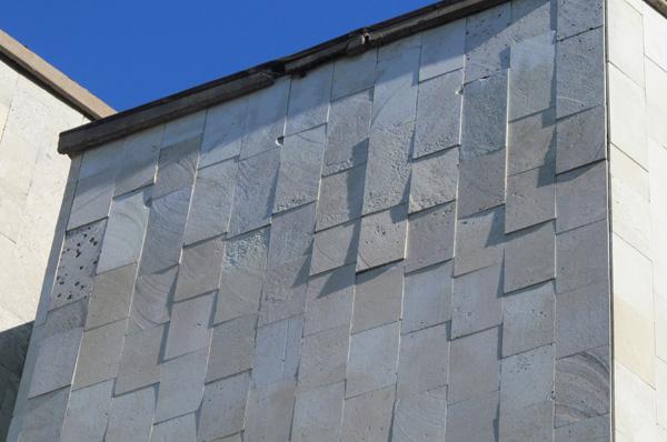 Отслаивание фасадного камня