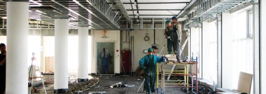 Ремонт складов и терминалов