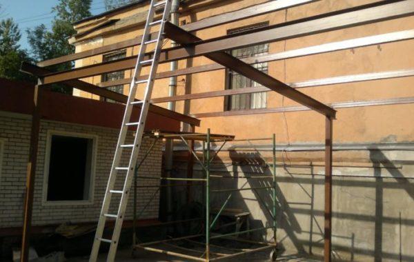 Строительство подсобных корпусов